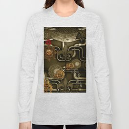 Wonderful noble steampunk design Long Sleeve T-shirt
