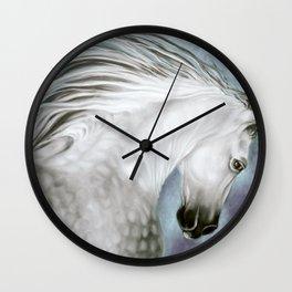 Andalusian Dapple Gray Wall Clock