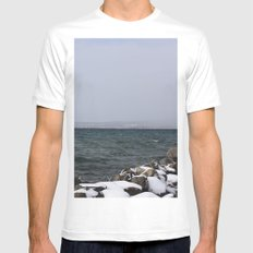 Rock wall Mens Fitted Tee White MEDIUM