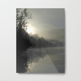 Dawn Reflections Metal Print