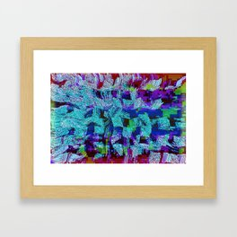 Coming Apart Framed Art Print