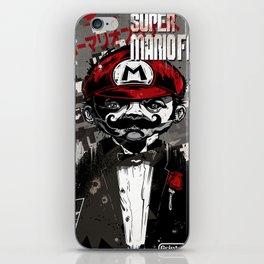 Super Mario Father iPhone Skin