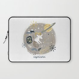 Capricorn Earth Laptop Sleeve