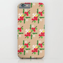 Coffee Plant iPhone Case