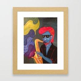 JazzMan Framed Art Print