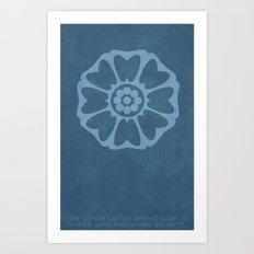 Order of the White Lotus Art Print