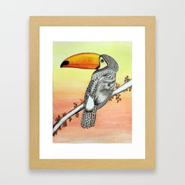 Toucan No.2 Framed Art Print