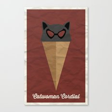 Catwoman Cordial Canvas Print