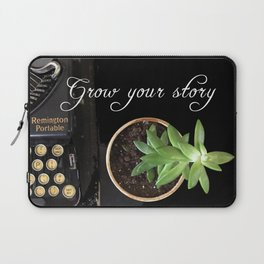 Grow Your Story Laptop Sleeve