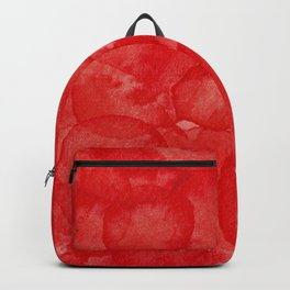 Cadmium Red Watercolour Backpack