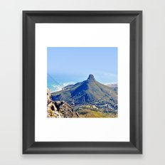 Lion's Head Framed Art Print