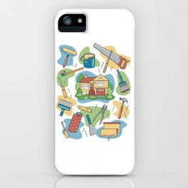 Home Improvement iPhone Case
