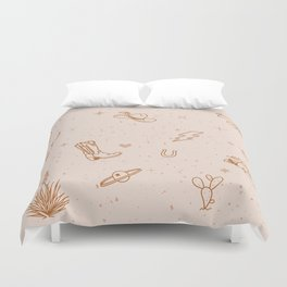 Cowboy Things Duvet Cover