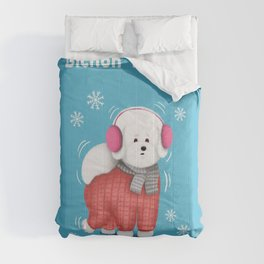 Bichon Freeze Comforters