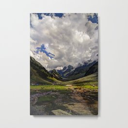 Kashmir Mountains  Metal Print