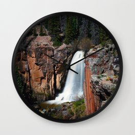South Clear Creek Falls Wall Clock