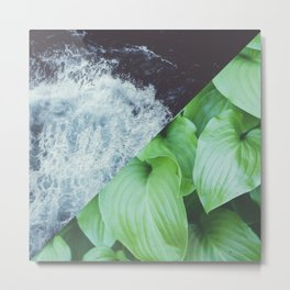 Tropic Square Metal Print