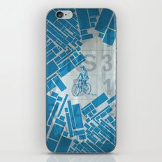 BlueBike iPhone & iPod Skin