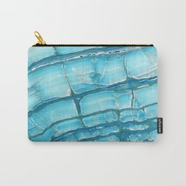 Blue onyx marble Carry-All Pouch
