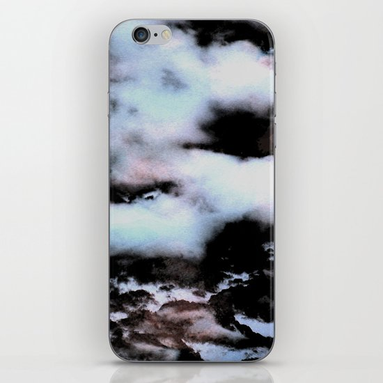 Ice and Smoke iPhone & iPod Skin