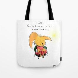 L I F E Tote Bag