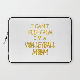 I'M A VOLLEYBALL MOM Laptop Sleeve