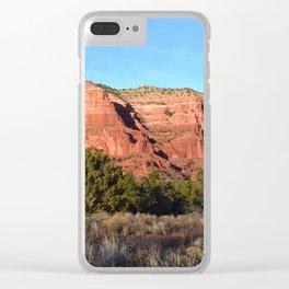 Red Rocks of Sedona Arizona Clear iPhone Case