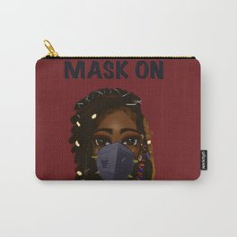 Mask On Version 2 Carry-All Pouch