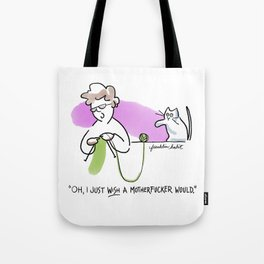 Motherfucking Knitter Tote Bag