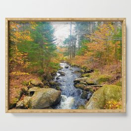 Vermont in Fall Serving Tray