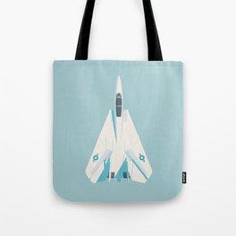 F14 Tomcat Fighter Jet Aircraft - Sky Tote Bag