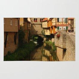 Medieval Village Reflection Rug