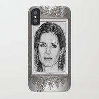 sandra dieckmann iPhone & iPod Cases featuring Sandra Bullock in 2005 by JMcCombie