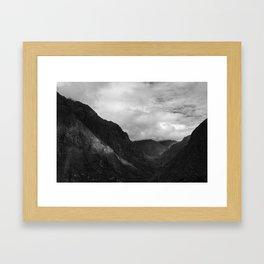 Inca trail Framed Art Print