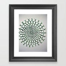Microscopic Framed Art Print