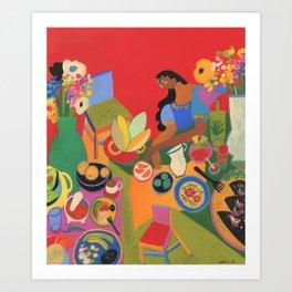 Sabor Oaxaca Art Print