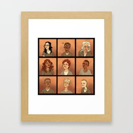 Inmates Framed Art Print