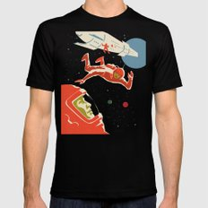 Cosmonauts X-LARGE Black Mens Fitted Tee