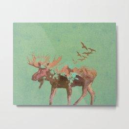 Moose Mountain Metal Print
