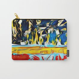 Mountain of Many Faces Carry-All Pouch