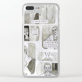 Hallway Clear iPhone Case