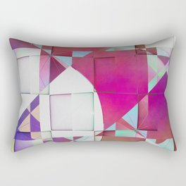 Multicolored abstract no. 64 Rectangular Pillow