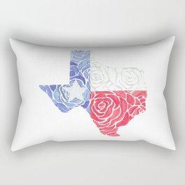 Texas Roses Rectangular Pillow