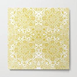 Moorish -yellow ochre Metal Print