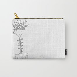 Flower Human Carry-All Pouch