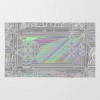 door Area & Throw Rugs featuring Door by Horus Vacui