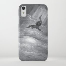 Gustave Dore: Paradise Lost XII iPhone Case