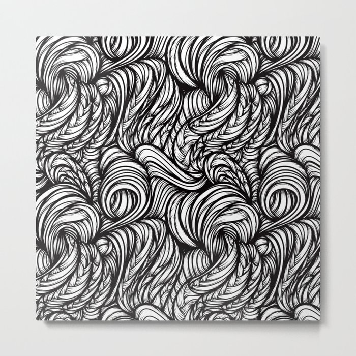 Waves XI Metal Print