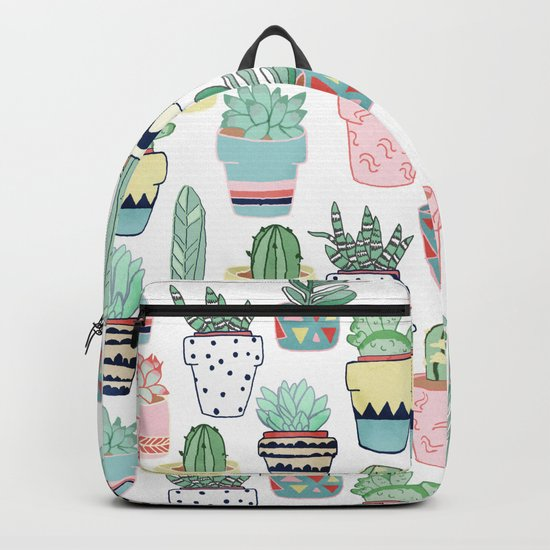Cute Cacti in Pots Backpack