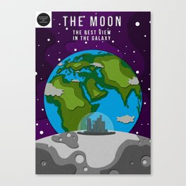 City Of The Moon Canvas Print